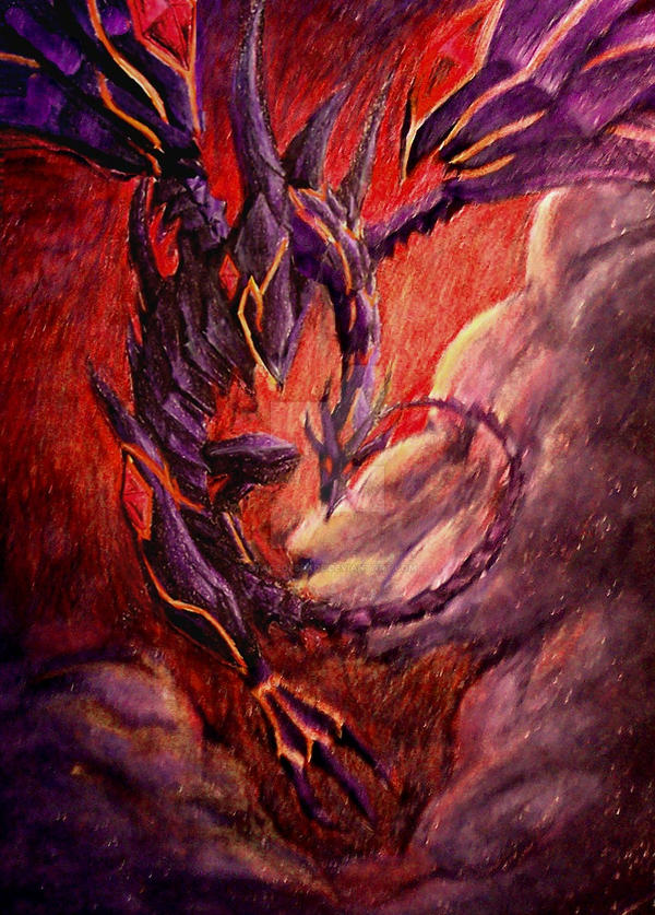 red eyes darkness dragon by gtaceofspade on deviantart