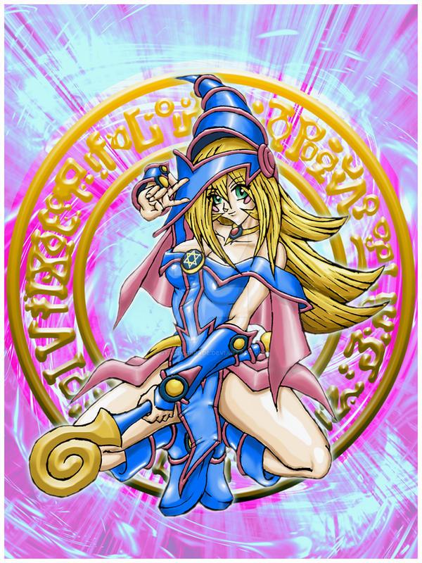 Dark Magician Girl By Gtaceofspade On Deviantart