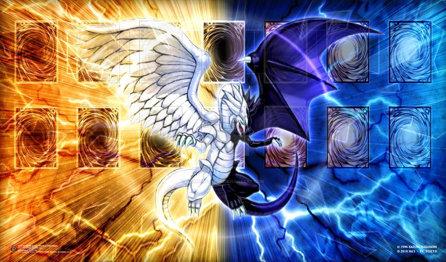 Dark dragon vs light dragon