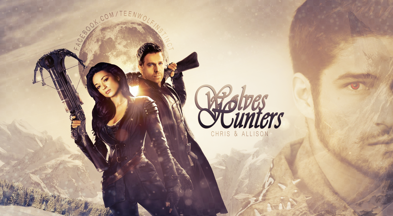 Teen Wolf - Wolves Hunters : Chris And Allison by ...
