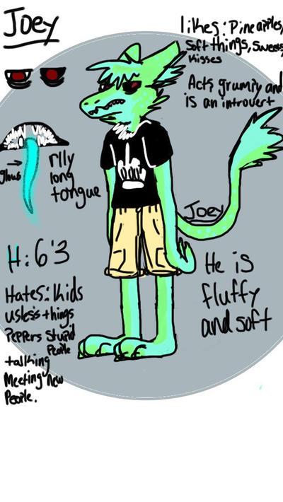 Grumpy Joey  by FluffyTheCat12
