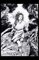 Niobe Cover by zipactli-comic-art