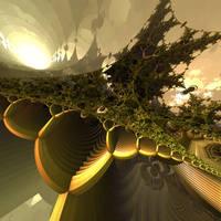 Mysteries of the Green Nebula by dainbramage1