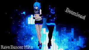 TDA Rave Dancer Miku DL by ShimakazeWaifu