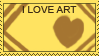 Love art stamp by ochiba1110