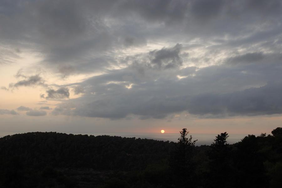 lovely sunset by ochiba1110