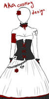 Aka dress design