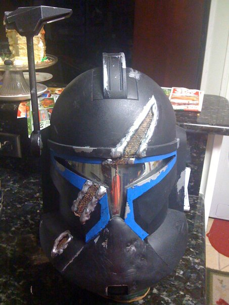 Custom Mando helmet 1 by jbvirus
