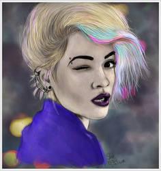 Rita Ora by me by SheLazY