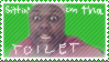 Sittin' on tha toilet stamp by latsy