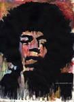 Jimi Hendrix by latsy