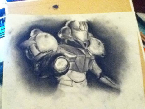 charcoal samus - not done
