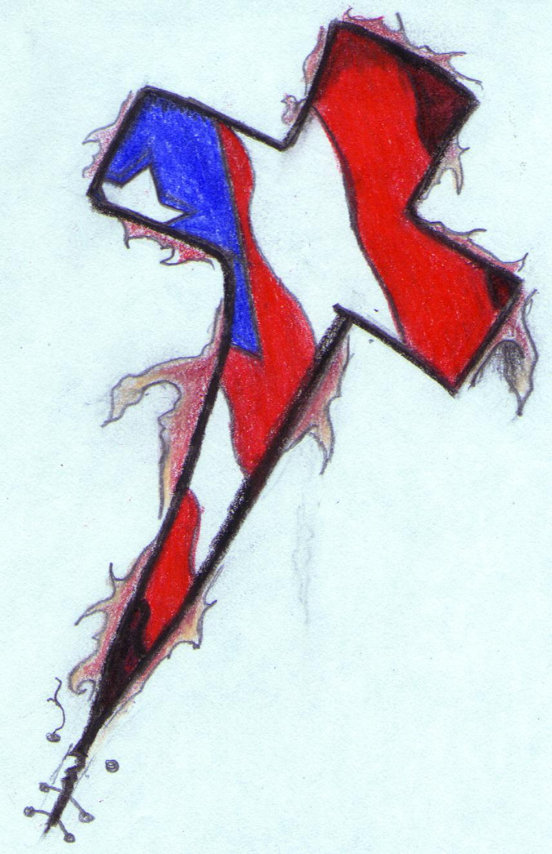 Puerto Rican Flag Tattoos