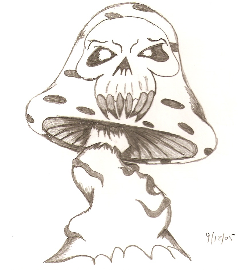 evil shroom by djdaztec on deviantart
