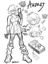audrey's sketches