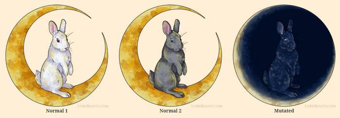 Moon Bunny for LoreBeasts.com
