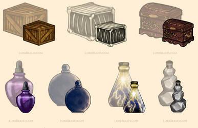 Item Art for LoreBeasts.com