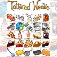 Items for TatteredWeave.com