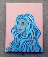 Blue Pearl by artbykayra