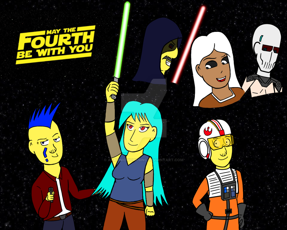 May the 4th be with you! by AaronicWorksInc