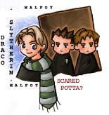 Draco Malfoy and his Goons by mione2