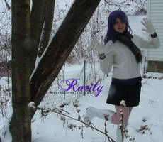 Rarity - Happy winter! by TheCosplayVlogger