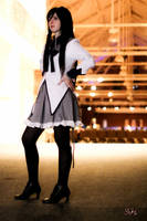 AAC 2013 - Homura Shoot4 by TheCosplayVlogger