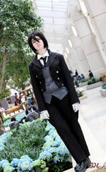 His Butler, Waiting by TheCosplayVlogger