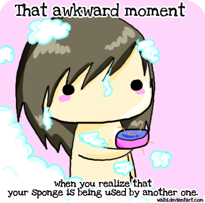Awkward moment by Walbi