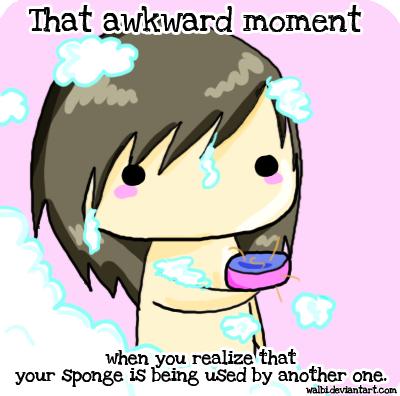 Awkward moment by Walbi