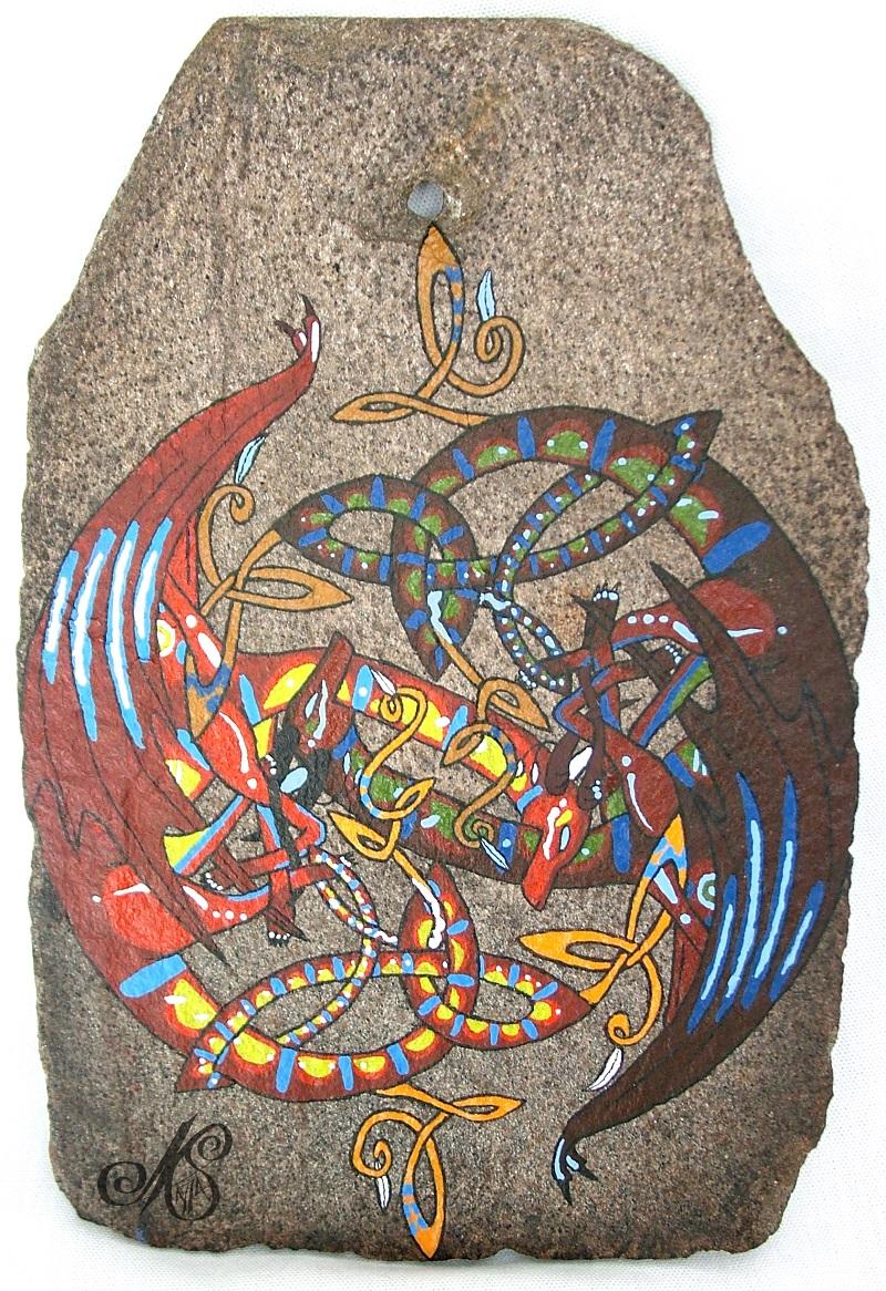 Celtic Dragon by nightspirit174