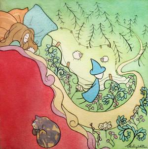 Journey to Glen Esk page 1: dream