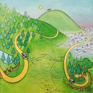 Journey to Glen Esk page 5: journey
