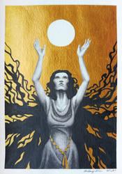 Lady of Sunlight by FallenFantasyArt
