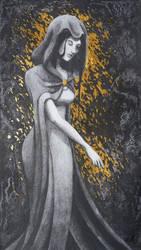 Grey Lady by FallenFantasyArt