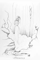 Faebruary Day 2: Caoineag by FallenFantasyArt