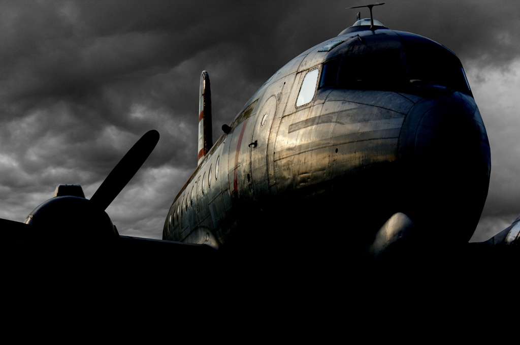 DC-6 North Weald by Alexgeorge14
