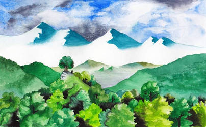 The tops of Fangorn