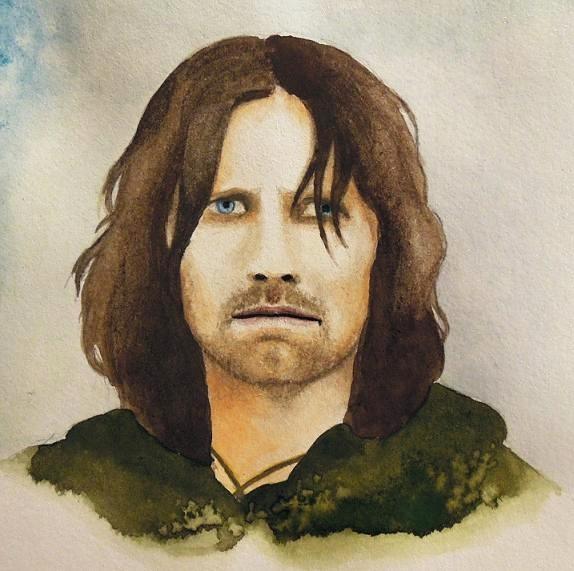 Aragorn by SarkaSkorpikova
