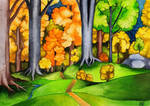 Autumn in the forests of Lorien