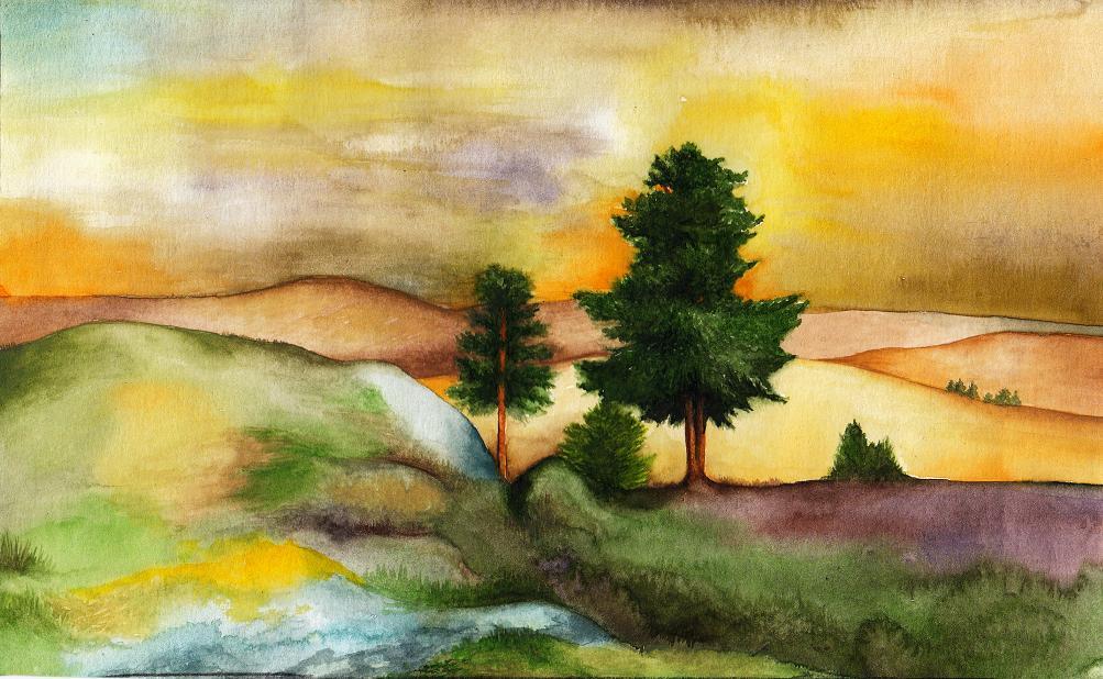 Rhovanion-the brown lands by SarkaSkorpikova
