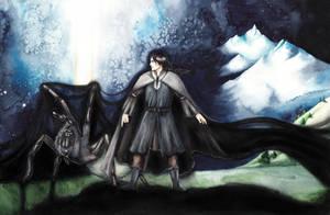 The darkening of Valinor by SarkaSkorpikova