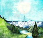Illuin (The spring of Arda)