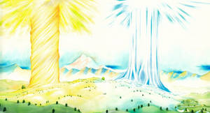 Laurelin and Telperion (Two trees of Valinor V)