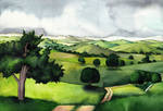 Shire hills