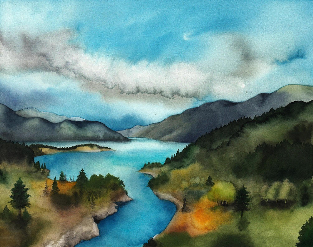 Nenuial (Lake Evendim) by SarkaSkorpikova