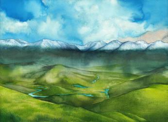 Ossiriand by SarkaSkorpikova