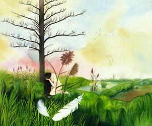 Swamp king's daughter by SarkaSkorpikova