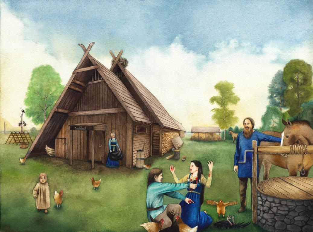 Swamp king's daughter's blood by SarkaSkorpikova