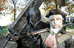 Bloodborne: Lady Maria and the hunter